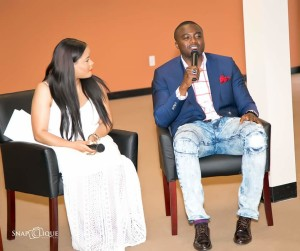 Panelists kept it real about their struggles and provided godly wisdom to singles on how they can keep themselves in God's will while waiting for their mates. Courtesy Snapclique Productions.